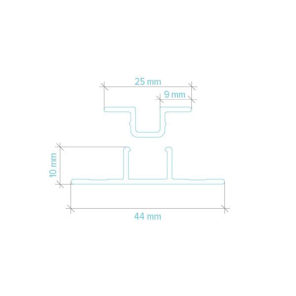 Mesure de Moulure verticale pour panneaux