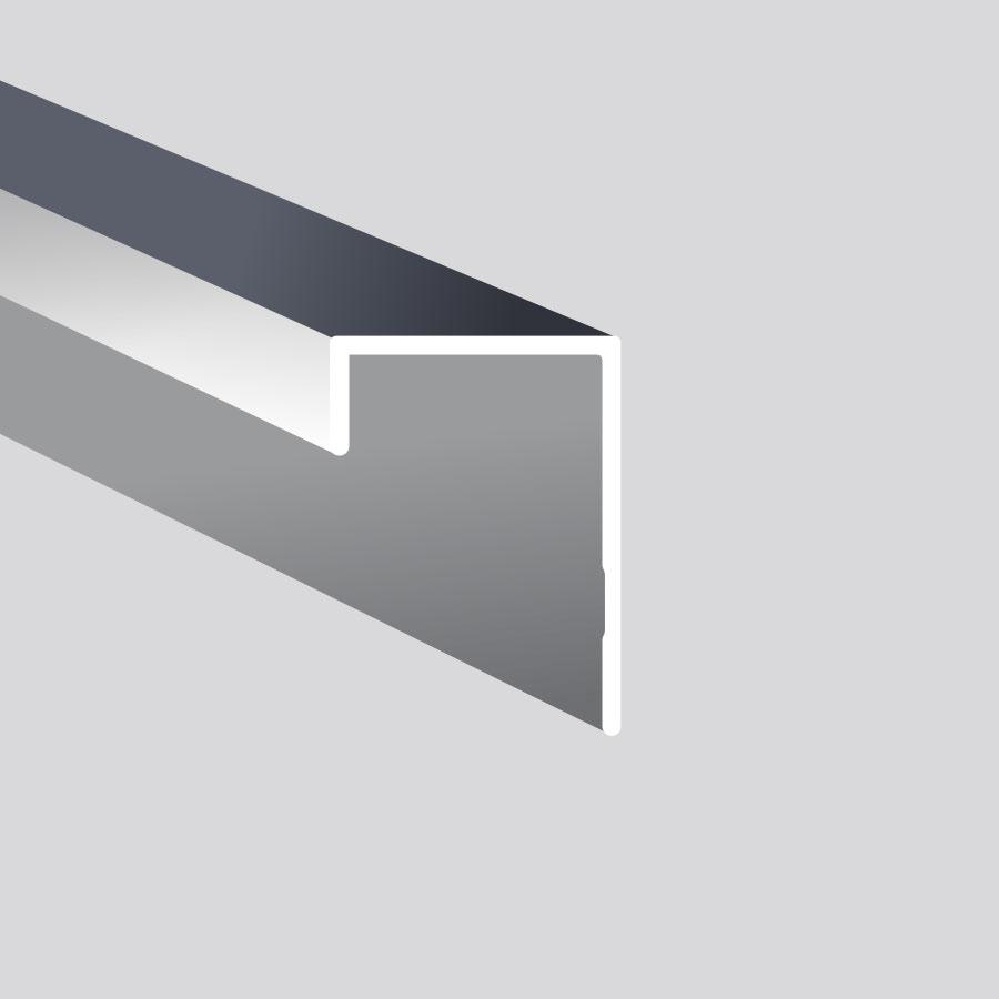 Universal J trim for 3/4″ lap